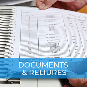 Documents et reliures