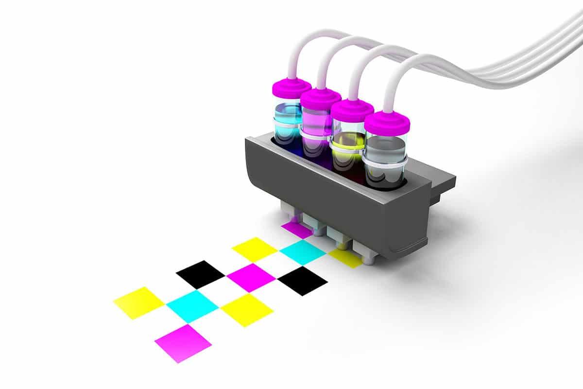 impression numérique jets d'encre couleur